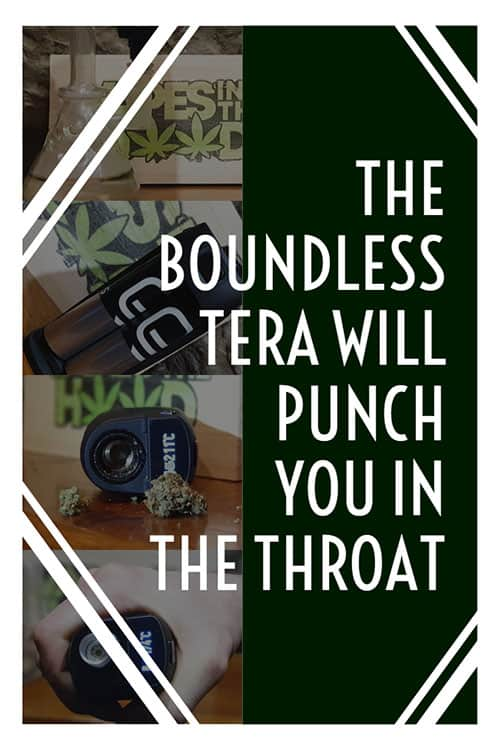 Boundless tera is a powerful beast of a dry herb and concentrate vaporizer