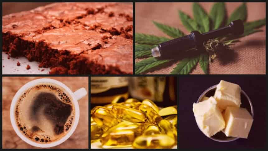 Bes uses for avb featuring edible brownies RSO rick simpson Oil, cannacaps, THC coffee, cannabitter